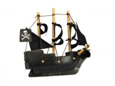 Black Pearl Pirates of the Caribbean Pirate Ship Model Magnet 4