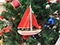 Sailboat Christmas Ornaments