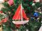 Sailboat Christmas Ornaments