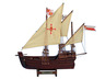 Wooden Santa Maria, Nina and Pinta Model Ship Set - 22