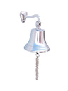 Chrome Hanging Ships Bell 11 - 3