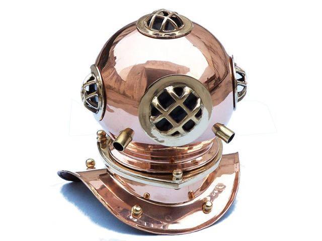 Copper Decorative Divers Helmet 9