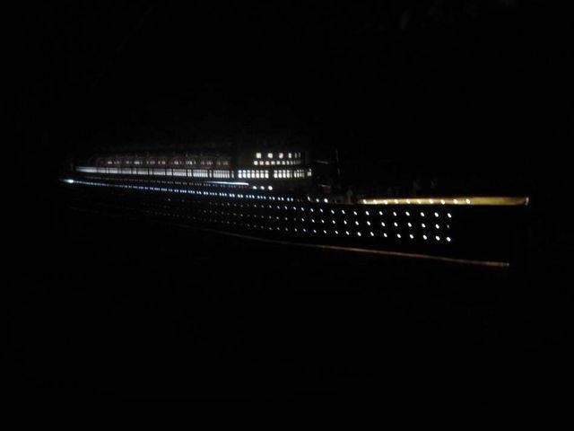 RMS Mauretania Limited Model Cruise Ship 40 w- LED Lights