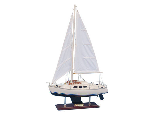 Wooden Catalina Yacht Model 24