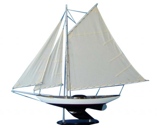 Wooden Modern Decor Sloop 26