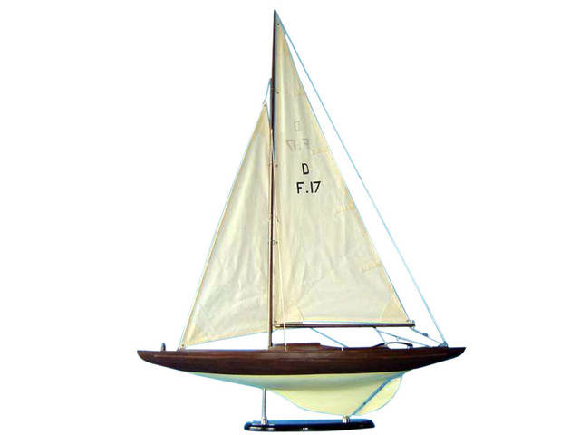 Wooden Dragon Keelboat Decoration 40