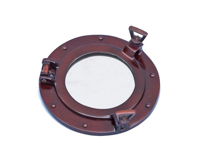 Deluxe Class Antique Copper Porthole Window 8