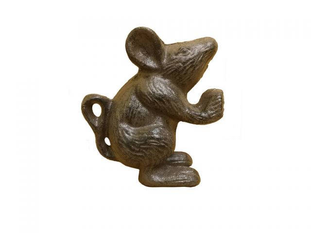 Cast Iron Mouse Door Stopper 5