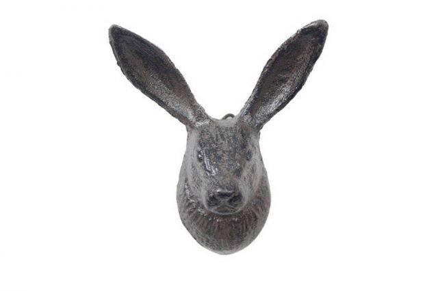 Cast Iron Decorative Rabbit Hook 5