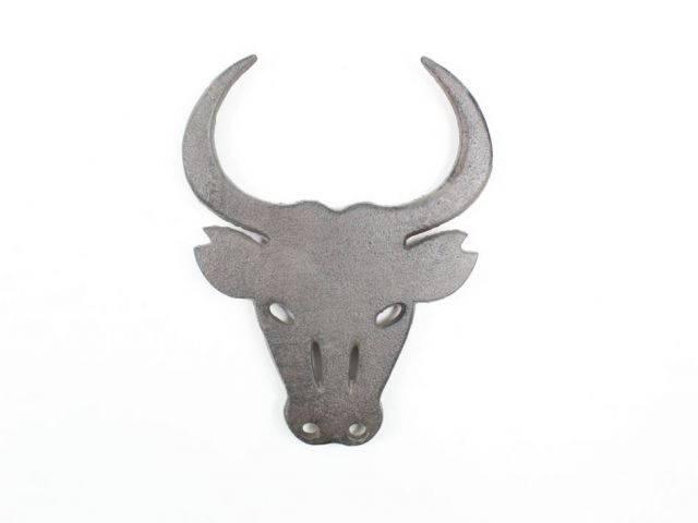 Cast Iron Bull Trivet 10