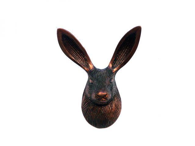 Antique Copper Decorative Rabbit Hook 5