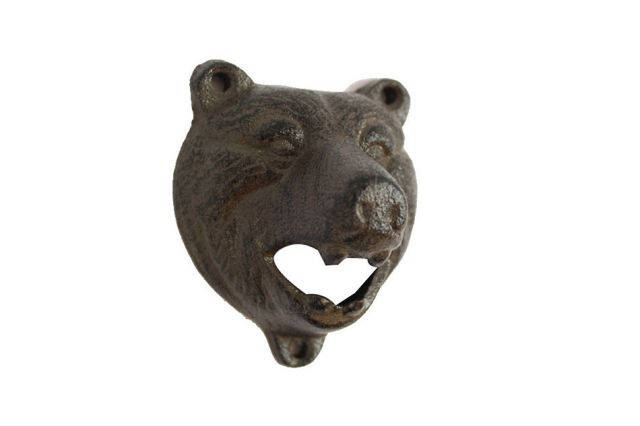 Cast Iron Bear Bottle Opener 4