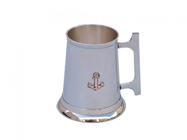 Brass Anchor Mug With Cleat Handle 5
