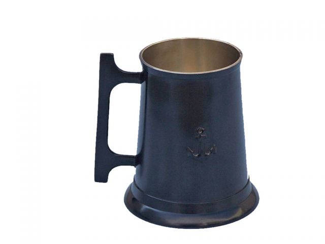 Oil-Rubbed Bronze Anchor Mug With Cleat Handle 5
