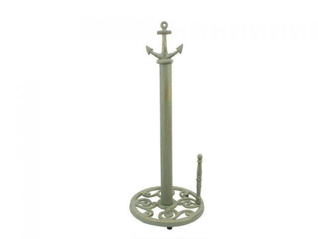 Seaworn Bronze Cast Iron Anchor Paper Towel Holder 16