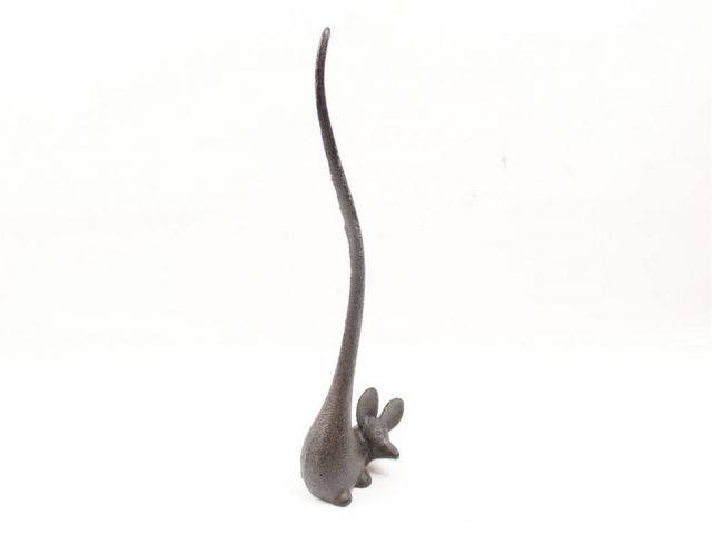 Cast Iron Mouse Extra Toilet Paper Stand 12