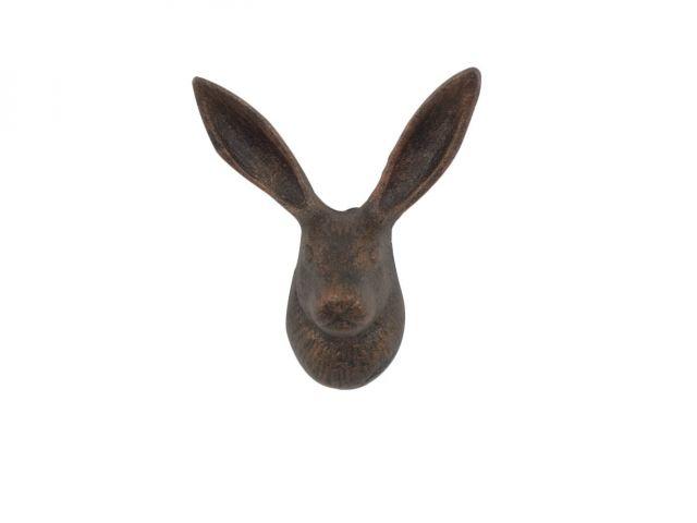 Rustic Copper Cast Iron Decorative Rabbit Hook 5