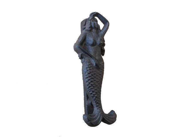 Cast Iron Mermaid Door Knocker 7