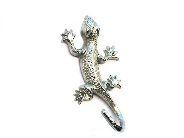 Chrome Decorative Lizard Hook 6