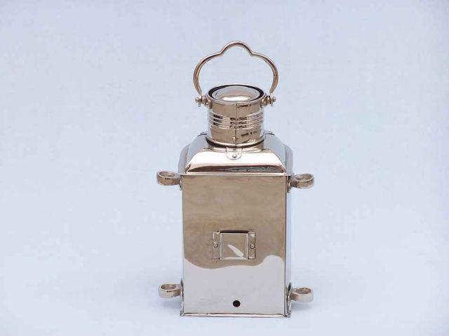 Buy Chrome Masthead Oil Lamp 14in Nautical Decor