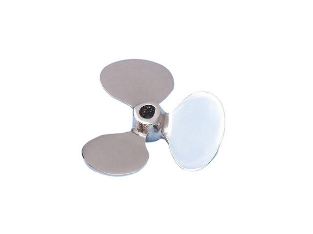 Chrome Decorative Propeller Paperweight 4