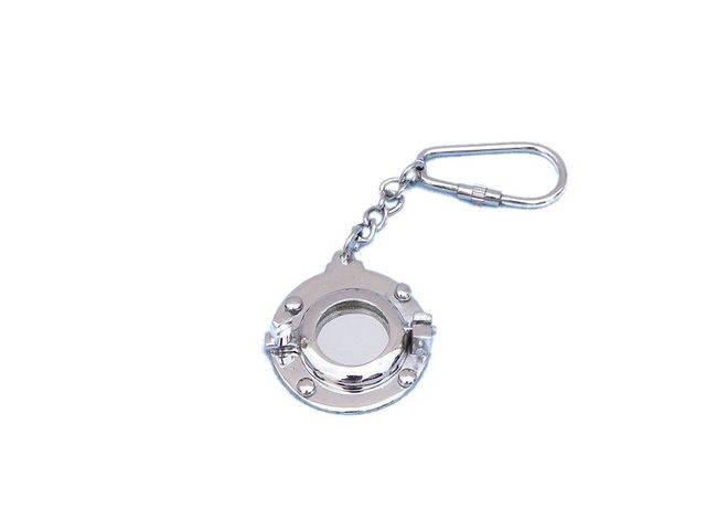 Chome Porthole Key Chain 5