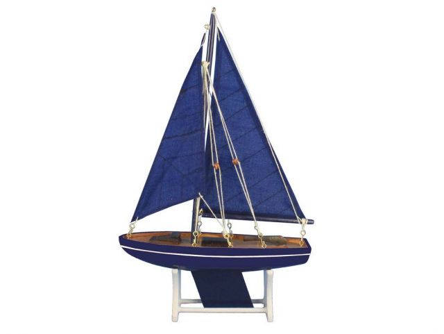 Wooden It Floats Ocean Breeze Model Sailboat 12
