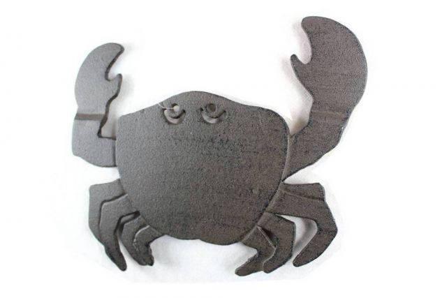 Cast Iron Crab Trivet 11