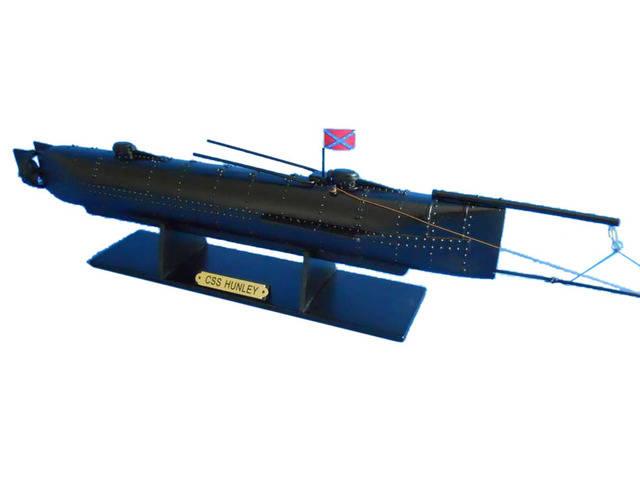 H. L. Hunley Limited Civil Model Submarine 24