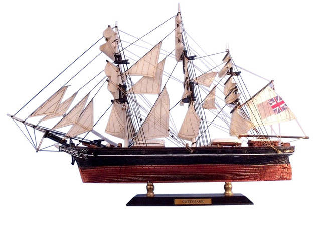 Cutty Sark Limited Tall Model Clipper Ship 15