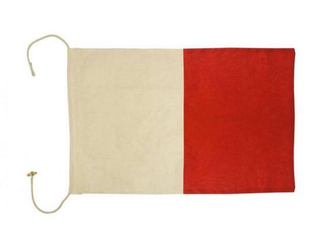 Letter H Cloth Nautical Alphabet Flag Decoration 20