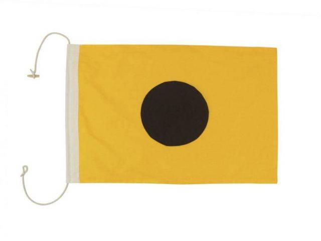 Letter I Cloth Nautical Alphabet Flag Decoration 20