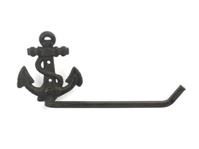 Cast Iron Anchor Toilet Paper Holder 10