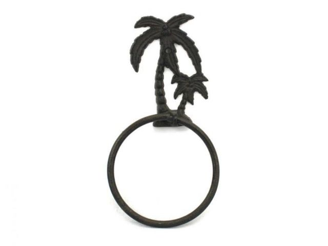Cast Iron Palm Tree Towel Holder 9