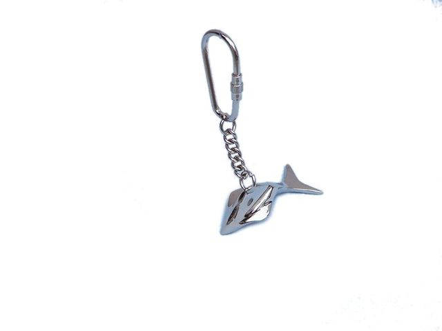 Chrome Dolphin Key Chain 4