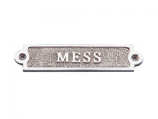 Chrome Mess Sign 6