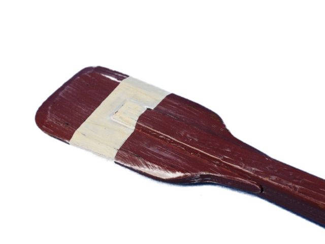 Wooden Chadwick Decorative Squared Rowing Boat Oar w- Hooks 24