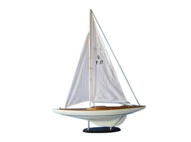 Wooden Waverunner Dragon Keelboat Model Decoration 40