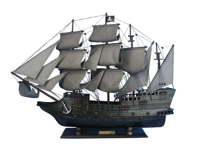 Wholesale Wooden Flying Dutchman Model Pirate Ship Limited 32in Hampton Nautical