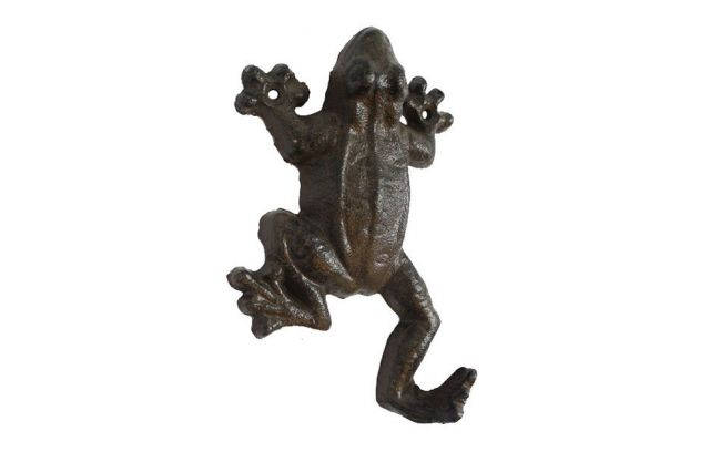 Cast Iron Frog Hook 6
