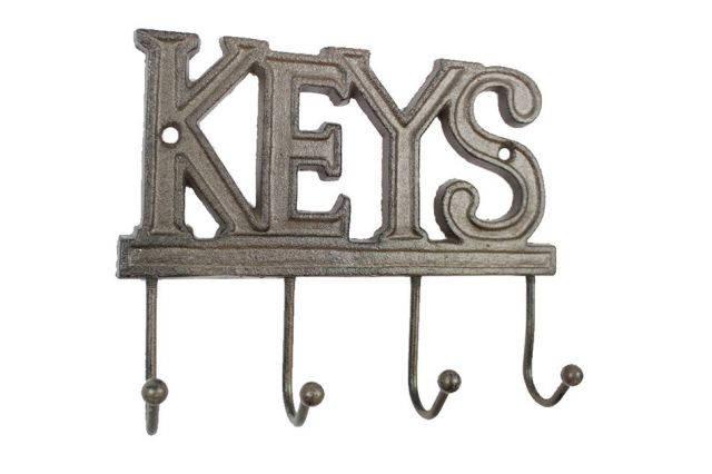 Cast Iron Keys Hooks 8