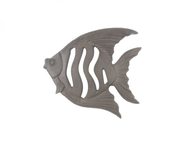 Cast Iron Angel Fish Kitchen Trivet 7