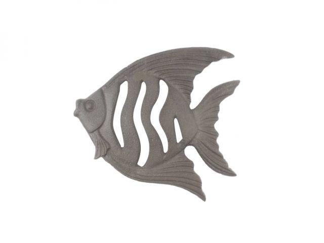 Cast Iron Angel Fish Kitchen Trivet 7