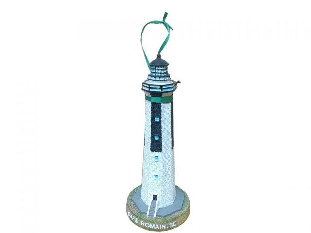 Cape Romain Lighthouse Christmas Ornament 9