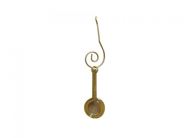 Solid Brass Handle Magnifier Christmas Ornament 4