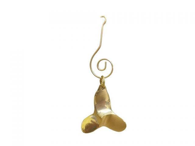 Solid Brass Decorative Titanic Propeller Christmas Ornament 4
