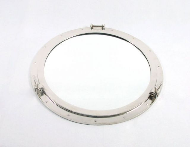 Deluxe Class Chrome Decorative Ship Porthole Window 30