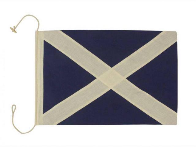 Letter M Cloth Nautical Alphabet Flag Decoration 20