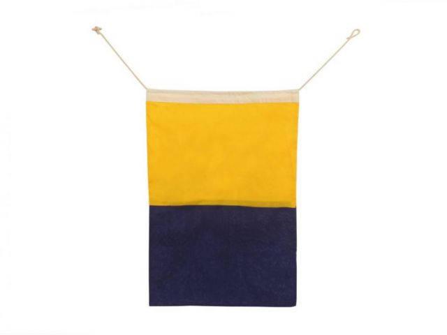Letter K Cloth Nautical Alphabet Flag Decoration 20
