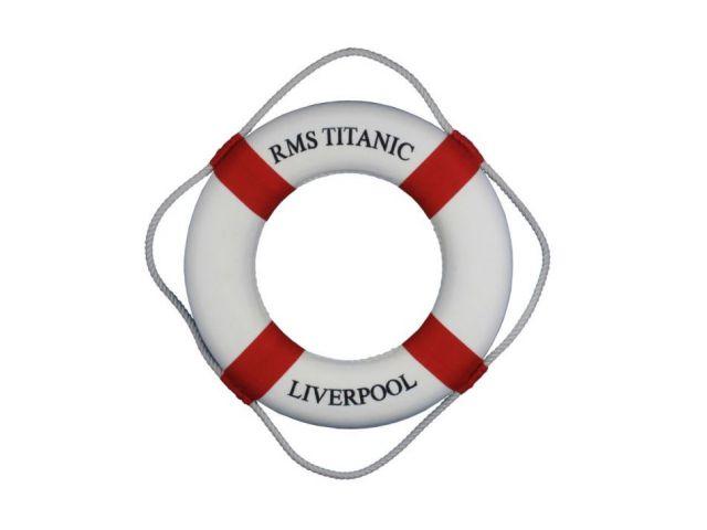 RMS Titanic Decorative Lifering 15 - Red